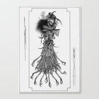 Death Gown Canvas Print
