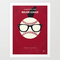 No541 My Major League Mi… Art Print