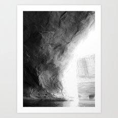 In the cove. Art Print