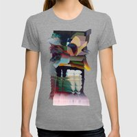 Note To Self Womens Fitted Tee Tri-Grey SMALL