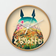 Forest Dream Wall Clock