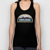 Twin Peaks Sheriff Department (Redux) Unisex Tank Top
