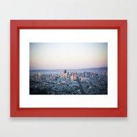 San Francisco, CA Framed Art Print