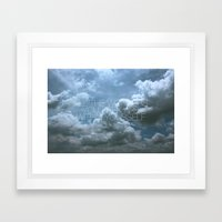 Wonder Cloud Framed Art Print