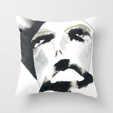 sigh of relief Throw Pillow