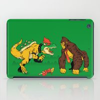 Boss vs Kong iPad Case