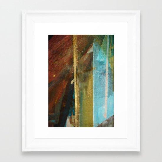 Art textiles Framed Art Print