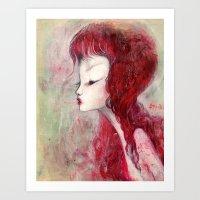Arrow Wind  Art Print