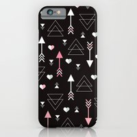 Geometric Black Arrow An… iPhone 6 Slim Case