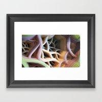 Patiflasmic Plasmatic Ge… Framed Art Print