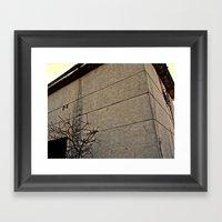 concrete Framed Art Print