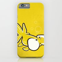 iPhone & iPod Case featuring Bubble Eye Goldfish by C Barrett