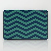 3D in Ocean Tones iPad Case