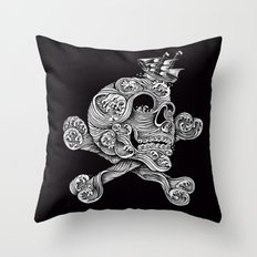 A Pirate Adventure Throw Pillow