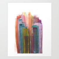 City #34: Kojani Art Print