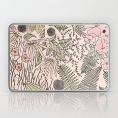 Alone in the Flowers Laptop & iPad Skin