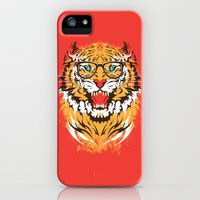 iPhone Cases featuring tigeek by Steven Toang
