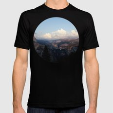 Yosemite Mens Fitted Tee Black SMALL