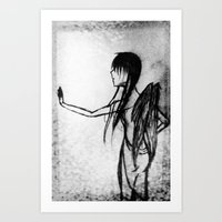 Dirtied Angel Art Print