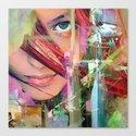 Abstract girl Canvas Print