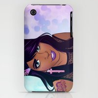 iPhone 3Gs & iPhone 3G Cases featuring Jaden by fizzymelody