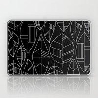 MCM Autumn Leaves B&W Laptop & iPad Skin