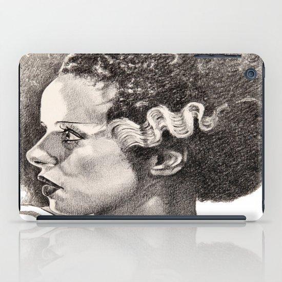 The bride of frankenstein elsa lancaster iPad Case