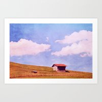 Summer House Art Print