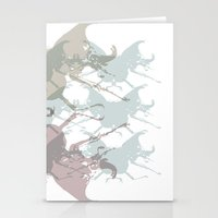 Scarabs Faded Stationery Cards