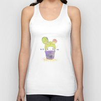 The Secret Wish Of A Cac… Unisex Tank Top