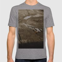 Light Mens Fitted Tee Athletic Grey SMALL