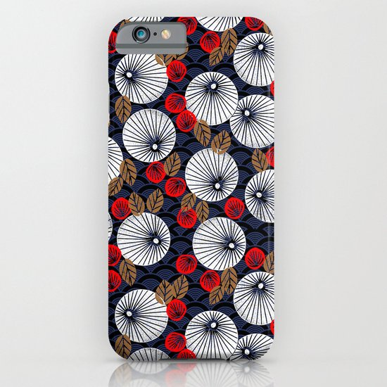 Parasol Garden iPhone & iPod Case