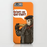 iPhone Cases featuring Psycho Killer by Eric Fan