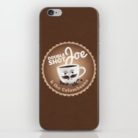 Doubleshot Joe iPhone & iPod Skin
