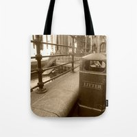 London Trash Talk Tote Bag