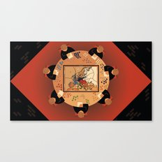 Diplomacy Canvas Print