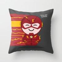 ChibizPop: Faster Than..… Throw Pillow