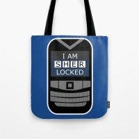 I Am Sherlocked - Sherlock Holmes Locked Phone Tote Bag