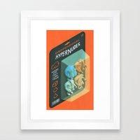 Subdimensional Hypernudes Framed Art Print