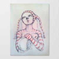 The Bunny rabbit Canvas Print