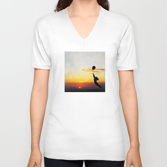 Hold Tight Unisex V Neck By Skye Zambrana Society6