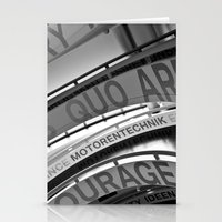 Motorentechnik Stationery Cards