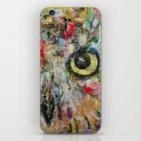 Mystic Owl iPhone & iPod Skin