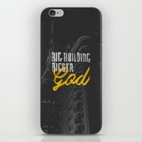 Big Building Bigger GOD iPhone & iPod Skin