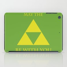 May the triforce be with you iPad Case