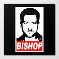 Obey Peter Canvas Print