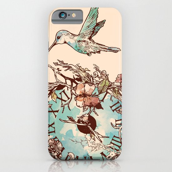 Watching the Passage of Time iPhone & iPod Case