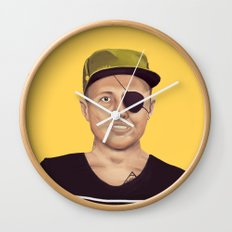 The Israeli Hipster leaders - Moshe Dayan Wall Clock