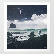 Le Voyage Art Print