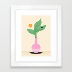 Flora and Fauna Framed Art Print